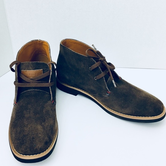 2ae25fe97 NWT Men s Suede Tommy Hilfiger Ankle Boots 9.5